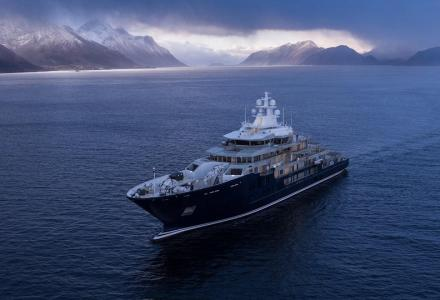 116-metre explorer superyacht Ulysses delivered by Kleven