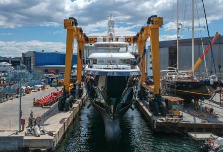 39-metre superyacht Stella di Mare launched by CBI Navi