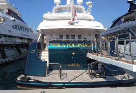 Death of the crew member on 46-metre La Polonia superyacht