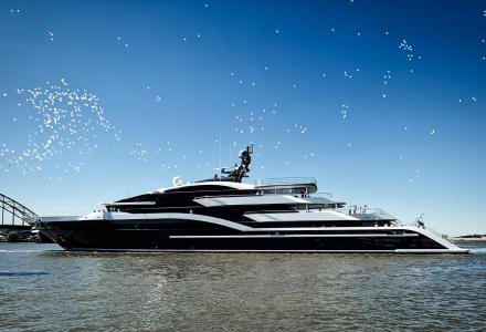 90-metre superyacht Project Shark delivered by Oceanco