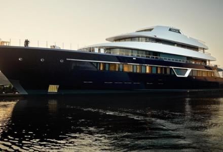 87-metre superyacht Lonian launched by Feadship