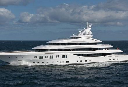 Lady Lara by Lurssen spotted in the Caribbean