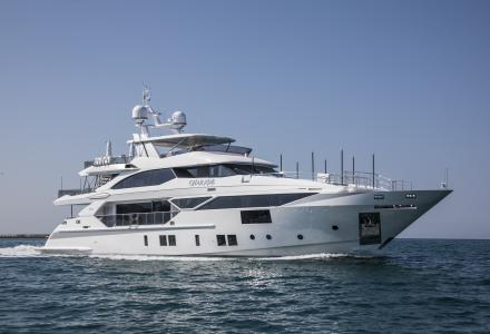 38-metre Benetti Fast 125 superyacht Charade delivered
