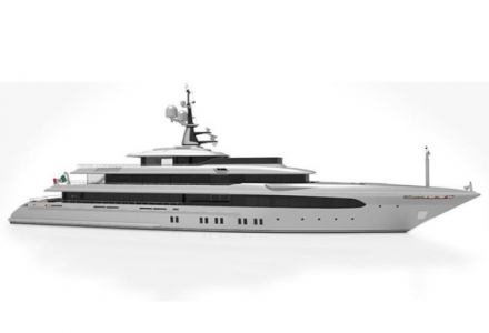 65-metre Codecasa superyacht hull F74 with delivery in 2019