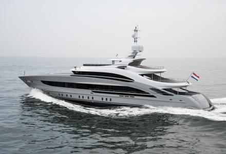50-metre Heesen 50 Steel Omaha delivered