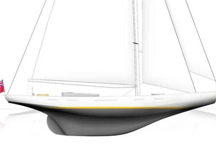 30.5-metre Jack Gifford Marine Design Studio released plans for a new yacht
