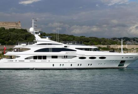 Newly refitted 52-metre superyacht Falcon is now ready for party