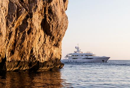 The world's most successful 55m superyacht to showcase at the Monaco Yacht Show