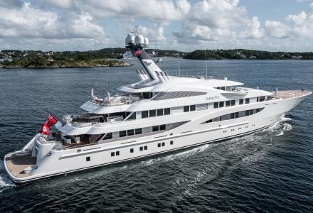 Areti: One of the largest yachts at the MYS now listed for sale