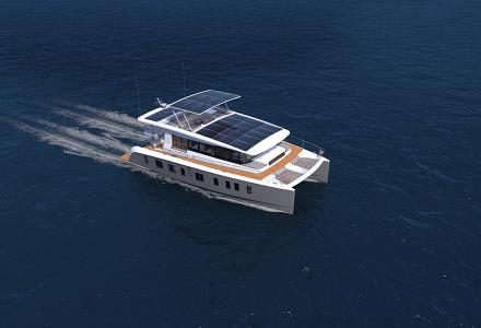 Silent 55: World debut of production oceangoing yacht with self-sufficient solar-powered propulsion