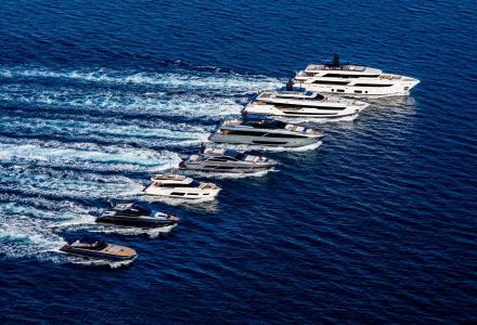 Ferretti Group lights up the Cannes Yachting Festival with 5 new stars