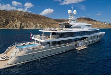 New 74-metre superyacht Amels 242 sold