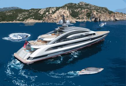 80-metre superyacht Project Cosmos by Heesen