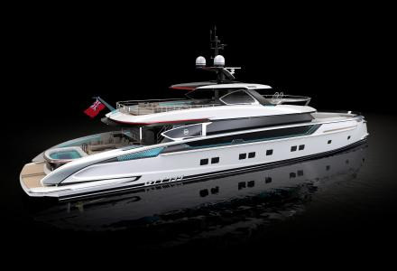 Sold : 41-meter superyacht GTT135 with the Porsche design