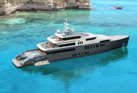 65-meter hydrogen-fueled superyacht concept by VSY