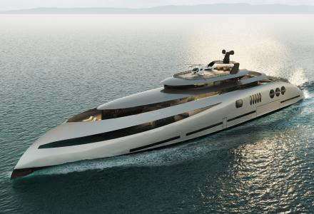 E P O C H : 80-meter superyacht by Ricky Smith Designs