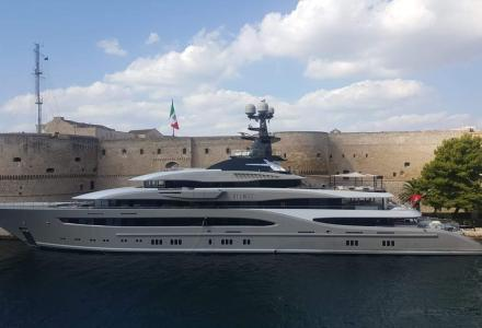 95-meter superyacht Kismet in $150 million movie