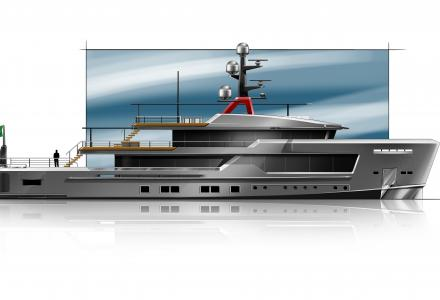 Alfarosso - the new explorer yacht by CRN and Francesco Paszkowski