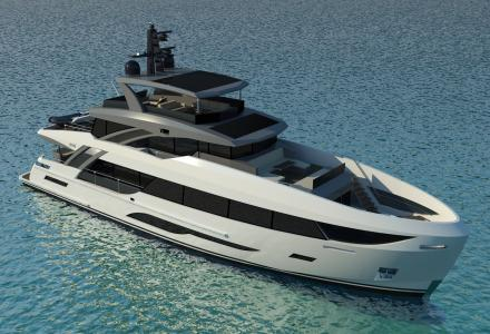 Contract signed for the new 32-metre semi-custom superyacht by Bering Yachts