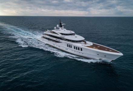 69-meter superyacht Spectre by Benetti delivered to John Staluppi