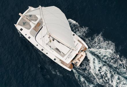 This is the yacht that Rafael Nadal has chosen to cruise the Bahamas