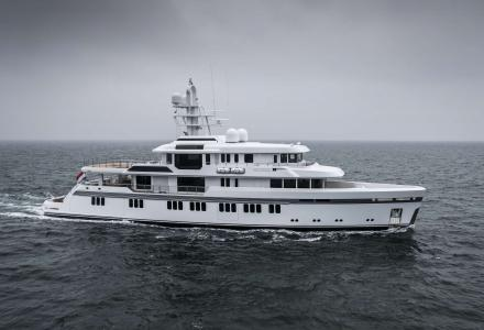Promise: Feadship's first ice-classed yacht delivered