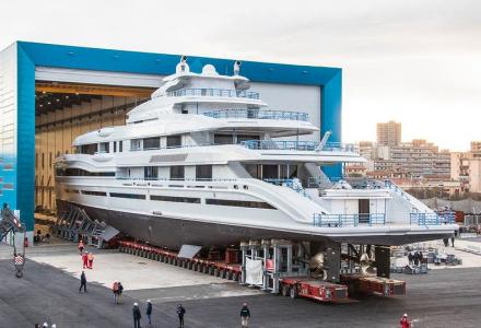 Benetti to launch 107-meter superyacht for serial yacht owner