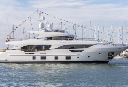 Benetti launched 29-meter superyacht Eurus