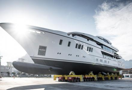 63-meter superyacht North Star launched