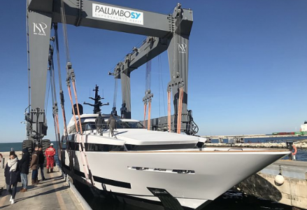43-meter superyacht Agora III launched by ISA