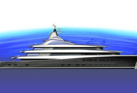 112m Palo Alto is being built by Lurssen Yachts