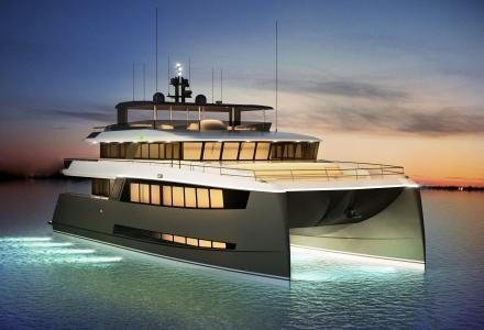 New 25-meter concept in catamaran design
