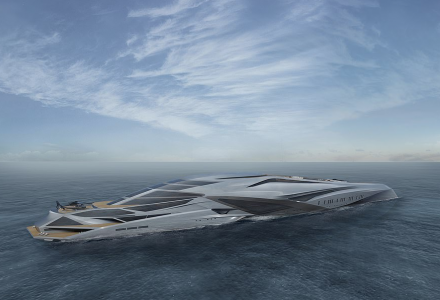 229-meter superyacht project Valkyrie - the largest private vessel in the world