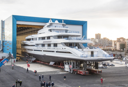 FB 272: Benetti launches largest superyacht to date