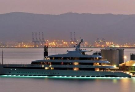 Most innovative yacht from Feadship spotted in Gibraltar