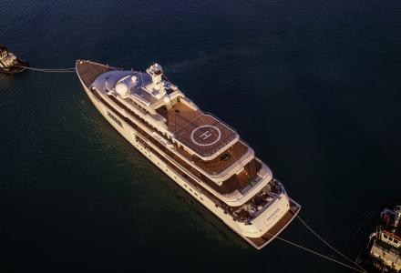 Zoza: 107m Benetti gigayacht launched