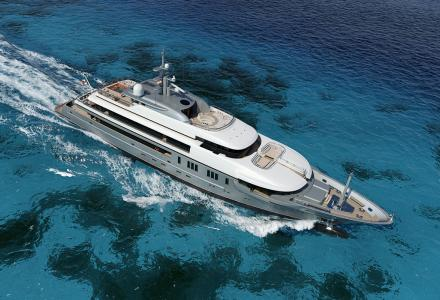The fourth VSY superyacht: 64m Project 003 nears her delivery