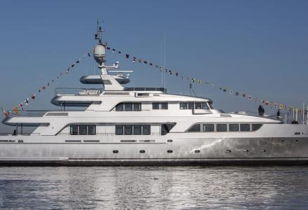 Codecasa launches new 43m Vintage Series yacht