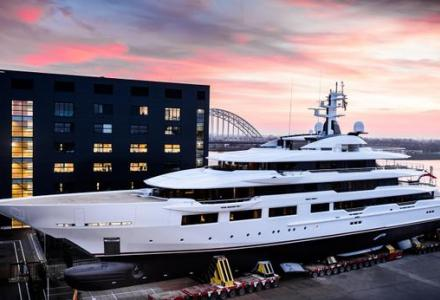 DreAMBoat: Oceanco delivers 90m for Atlanta Falcons owner