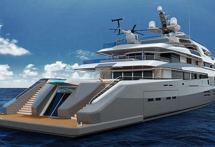 Nobiskrug and Borzelli and Berta introduce 90m superyacht concept Project Legato