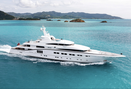 5 of the largest yachts confirmed for Superyacht Show 2019