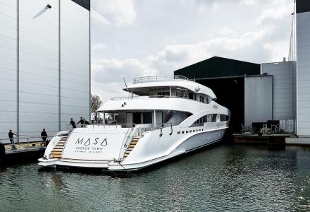 Heesen 50m superyacht Masa launched