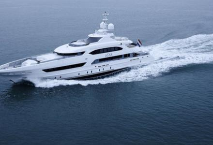 Asya delivered by Heesen yachts