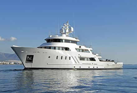 51m explorer superyacht Aspire completes €4 million refit