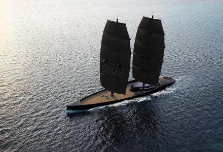 The Black Pearl code: 72m sailing yacht concept Osseo - Yacht Harbour