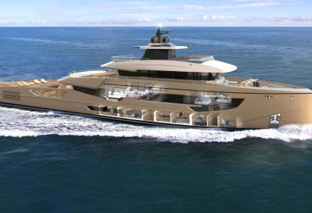 New details about Rosetti 52m Supply Vessel Yacht