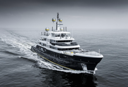 63m Hakvoort explorer superyacht Scout delivered