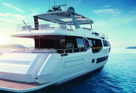Sirena Yachts: construction of new hull 88 is going ahead
