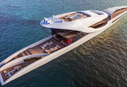 Hop: The Megayacht Concept That Dreams To Crossing The World