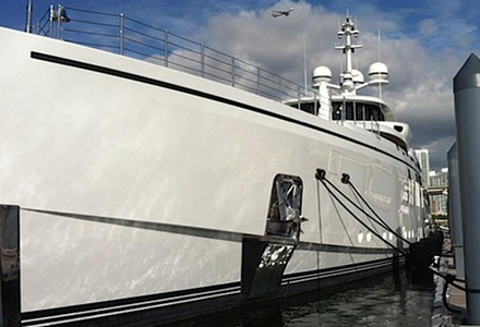 The latest delivery from Benetti spotted in Miami